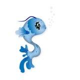 χαριτωμένη απεικόνιση ψαριών Στοκ Φωτογραφία