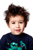 Χαριτωμένη λατρευτή έκφραση μικρών παιδιών Στοκ φωτογραφίες με δικαίωμα ελεύθερης χρήσης