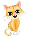 Χαριτωμένη γάτα Στοκ Εικόνες