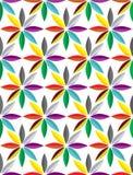 Χαριτωμένη διανυσματική ταπετσαρία λουλουδιών Στοκ φωτογραφίες με δικαίωμα ελεύθερης χρήσης