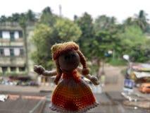 χαριτωμένη κούκλα στοκ φωτογραφία με δικαίωμα ελεύθερης χρήσης
