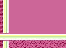 Χαριτωμένη μαλακή κουκουβάγια υποβάθρου χρώματος Στοκ φωτογραφίες με δικαίωμα ελεύθερης χρήσης
