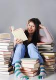 χαριτωμένη μελέτη κοριτσιώ& στοκ εικόνες
