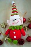 χαριτωμένη νεράιδα Χριστουγέννων Στοκ Εικόνες