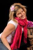 Χαριτωμένη προκλητική γυναίκα 64 Στοκ Φωτογραφίες