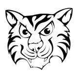 χαριτωμένη τίγρη κινούμενων Στοκ Φωτογραφία