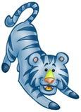 χαριτωμένη τίγρη Στοκ Εικόνες