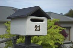 χαριτωμένη ταχυδρομική θ&upsilo στοκ εικόνα με δικαίωμα ελεύθερης χρήσης