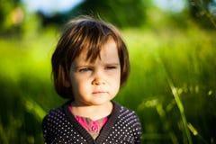 χαριτωμένη φύση κοριτσιών Στοκ εικόνες με δικαίωμα ελεύθερης χρήσης