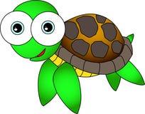 χαριτωμένη χελώνα Στοκ Φωτογραφία