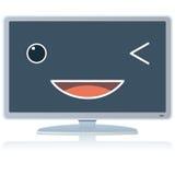 Χαριτωμένη TV κινούμενων σχεδίων Στοκ φωτογραφίες με δικαίωμα ελεύθερης χρήσης