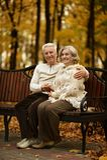 χαριτωμένοι ηλικιωμένοι ζ Στοκ Φωτογραφίες