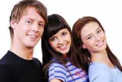 χαριτωμένοι σπουδαστές στοκ φωτογραφία με δικαίωμα ελεύθερης χρήσης