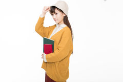 Χαριτωμένοι όμορφοι κινεζικοί σπουδαστές Στοκ φωτογραφία με δικαίωμα ελεύθερης χρήσης