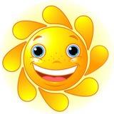 χαριτωμένος ήλιος ελεύθερη απεικόνιση δικαιώματος