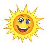 χαριτωμένος ήλιος Στοκ Εικόνες