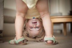Χαριτωμένος λίγο μικρό παιδί Στοκ Εικόνες