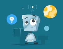 χαριτωμένος λίγο ρομπότ Στοκ Εικόνες