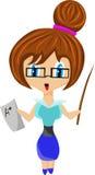 χαριτωμένος δάσκαλος Στοκ εικόνα με δικαίωμα ελεύθερης χρήσης
