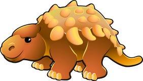 χαριτωμένος δεινόσαυρος φιλικός απεικόνιση αποθεμάτων