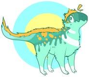 χαριτωμένος δεινόσαυρο&sig Στοκ εικόνα με δικαίωμα ελεύθερης χρήσης