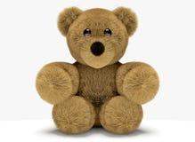 Χαριτωμένος θηλυκός teddy αντέχει τη γυναίκα τρισδιάστατη δίνει απεικόνιση αποθεμάτων