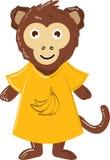 Χαριτωμένος διανυσματικός πίθηκος Στοκ φωτογραφία με δικαίωμα ελεύθερης χρήσης