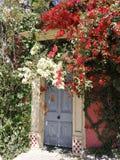 Χαριτωμένος λίγη πόρτα στοκ φωτογραφίες με δικαίωμα ελεύθερης χρήσης