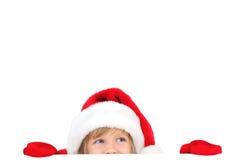χαριτωμένος λίγο santa Στοκ φωτογραφίες με δικαίωμα ελεύθερης χρήσης