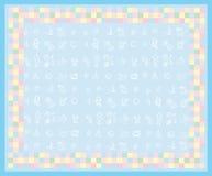 χαριτωμένος μικρός καρτών &alph απεικόνιση αποθεμάτων