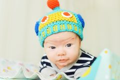 χαριτωμένος νεογέννητος στοκ φωτογραφία με δικαίωμα ελεύθερης χρήσης