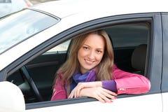 Χαριτωμένος οδηγός Στοκ εικόνα με δικαίωμα ελεύθερης χρήσης