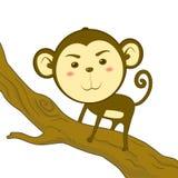 χαριτωμένος πίθηκος απεικόνιση αποθεμάτων