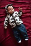 Χαριτωμένος ύπνος μωρών Στοκ εικόνες με δικαίωμα ελεύθερης χρήσης
