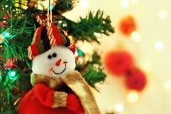 Χαριτωμένο άτομο χιονιού Στοκ Φωτογραφία