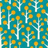 χαριτωμένο δέντρο προτύπων Στοκ φωτογραφίες με δικαίωμα ελεύθερης χρήσης