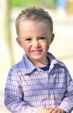 Χαριτωμένο αγόρι Στοκ εικόνες με δικαίωμα ελεύθερης χρήσης