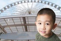 Χαριτωμένο ασιατικό πορτρέτο αγοριών Στοκ εικόνες με δικαίωμα ελεύθερης χρήσης