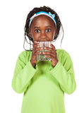 Χαριτωμένο αφρικανικό κορίτσι Στοκ Εικόνες