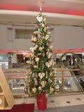 χαριτωμένο δέντρο Χριστο&upsilo Στοκ Φωτογραφία