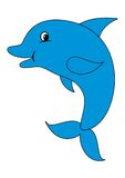 χαριτωμένο δελφίνι Στοκ φωτογραφία με δικαίωμα ελεύθερης χρήσης