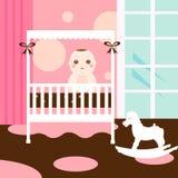 χαριτωμένο δωμάτιο μωρών Στοκ Εικόνες