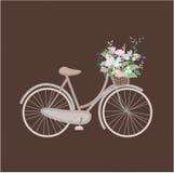 Χαριτωμένο εκλεκτής ποιότητας ποδήλατο στοκ φωτογραφία με δικαίωμα ελεύθερης χρήσης