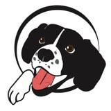 Χαριτωμένο ευτυχές σκυλί Στοκ φωτογραφίες με δικαίωμα ελεύθερης χρήσης