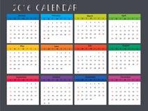 Χαριτωμένο ημερολόγιο Στοκ Εικόνες