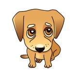 χαριτωμένο διάνυσμα απεικόνισης σκυλιών τέχνης Στοκ Εικόνα