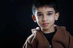 Χαριτωμένο ινδικό μικρό παιδί στοκ εικόνες με δικαίωμα ελεύθερης χρήσης