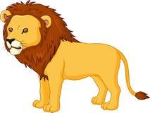 χαριτωμένο λιοντάρι κινούμ ελεύθερη απεικόνιση δικαιώματος