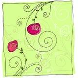 χαριτωμένο καλοκαίρι doodle αν Στοκ φωτογραφία με δικαίωμα ελεύθερης χρήσης