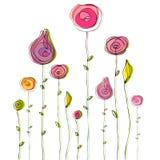χαριτωμένο καλοκαίρι doodle αν Στοκ Εικόνες